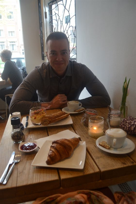 Cafetería Piqniq, Amsterdam, Paises Bajos