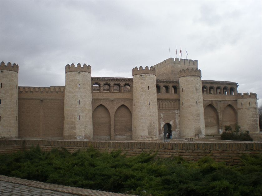 Palacio de la Aljaferia, Zaragoza, España