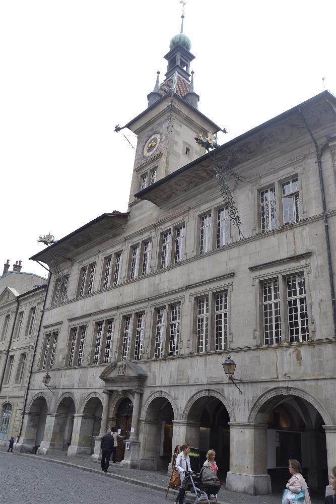 Ayuntamiento, Laussane, Suiza