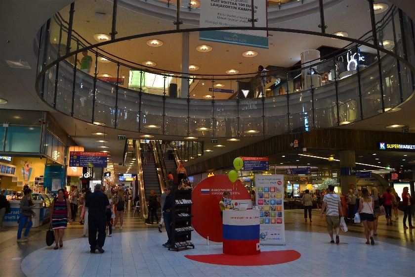 Kamppi Mall, Helsinki, Finlandia