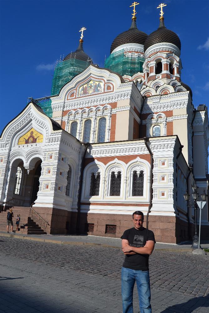 Catedral Alexander Nevski, Tallin, Estonia