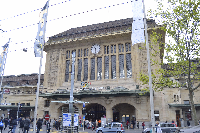 Estacion Tren, Laussane, Suiza