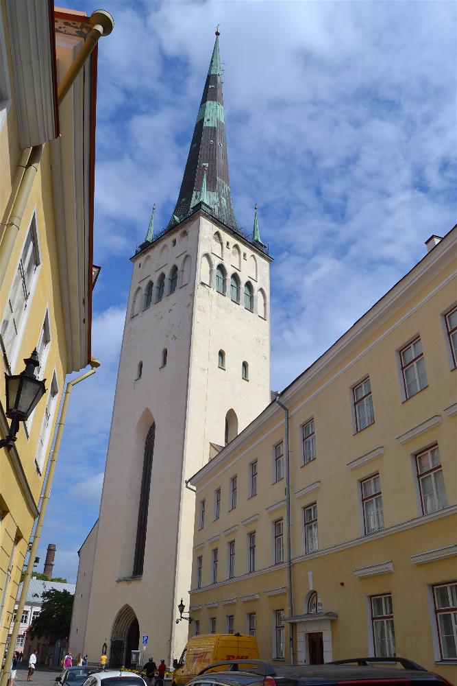 Iglesia de San Olaf, Tallin, Estonia