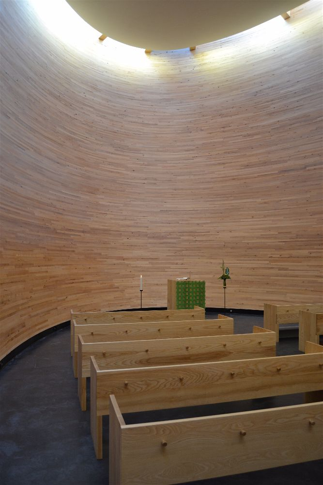 Kamppi Chapel of Silence, Helsinki, Finlandia