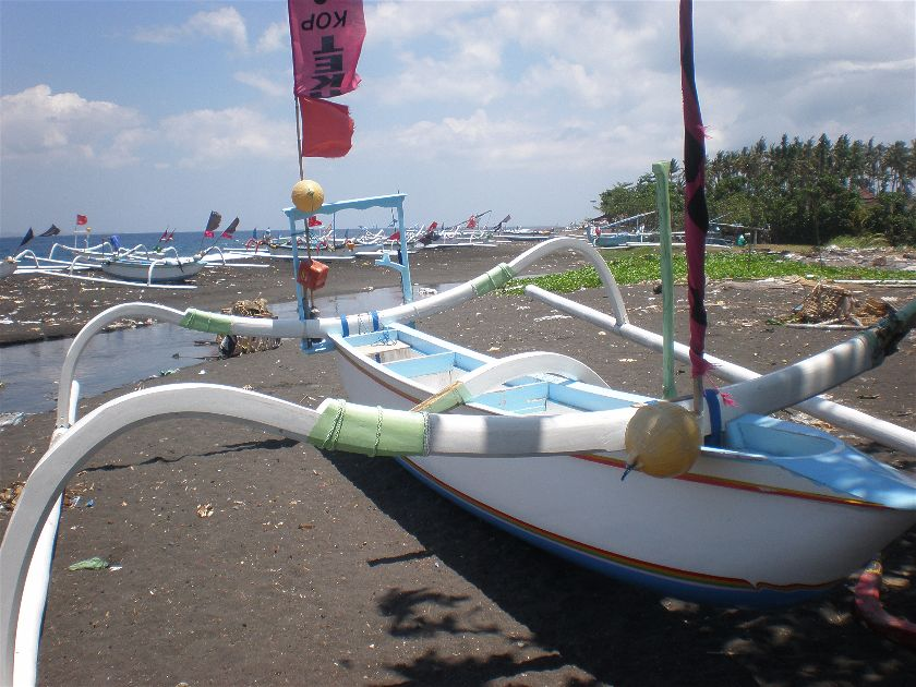 Jukung, Kusamba, Bali, Indonesia