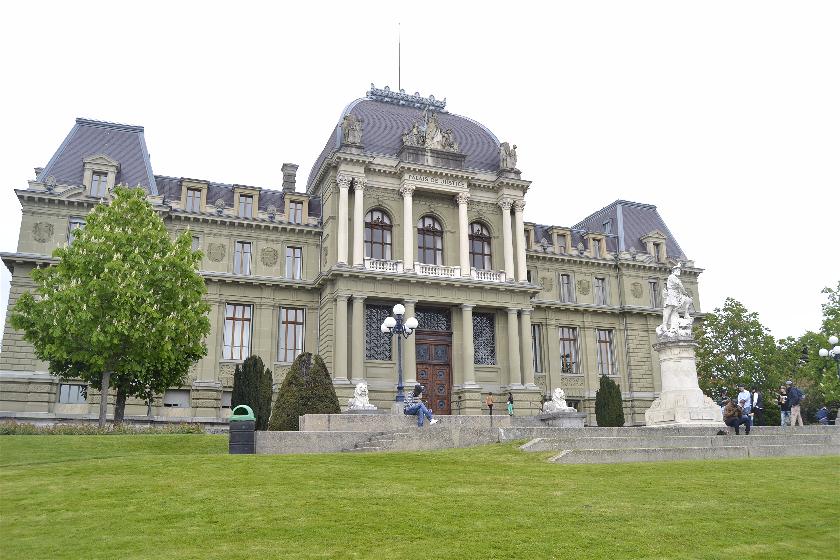 Palacio Justicia, Laussane, Suiza