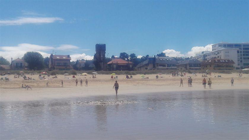 Playa América, Nigrán, Pontevedra, España