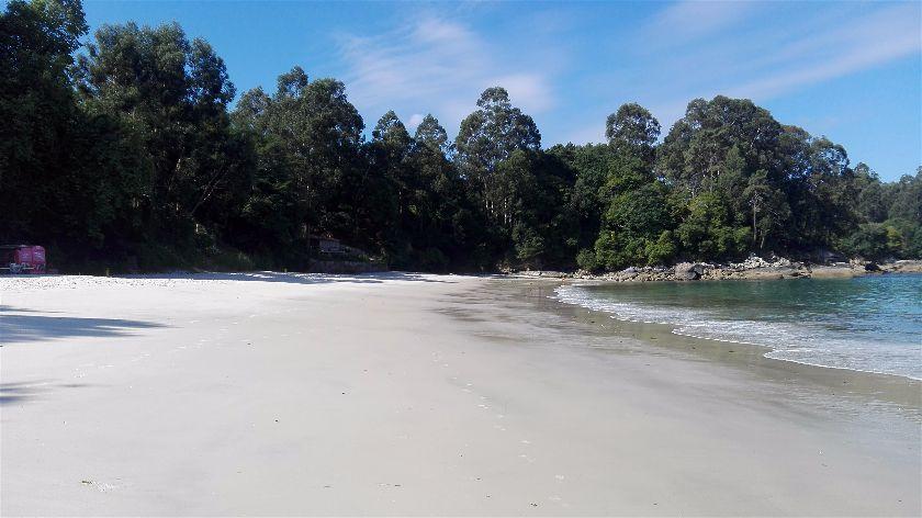 Playa Lapaman, Bueu, Pontevedra, España