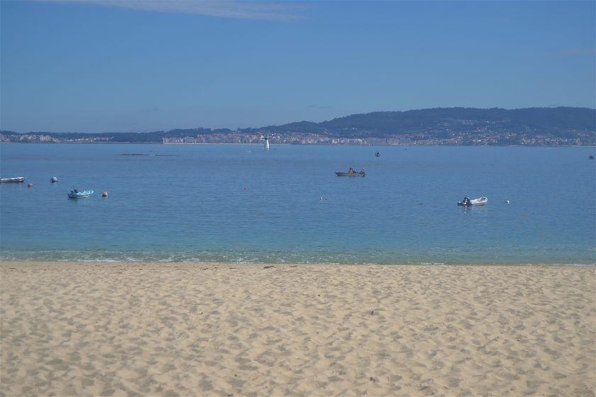 Playa Mourisca, Cabo Udra, Pontevedra, España