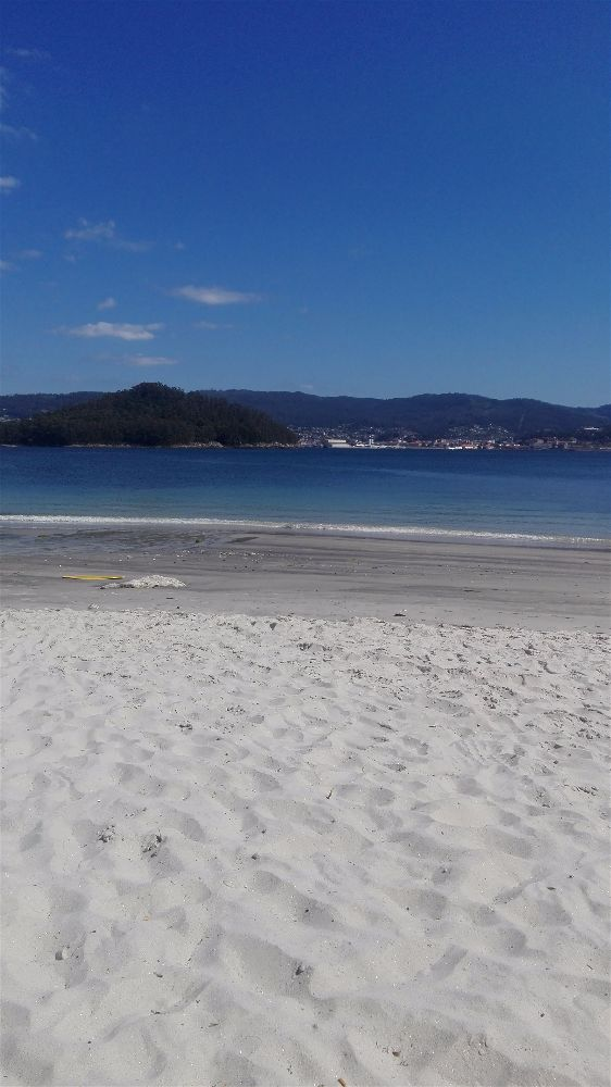 Playa Ouriceira, Chancelas, Pontevedra, España