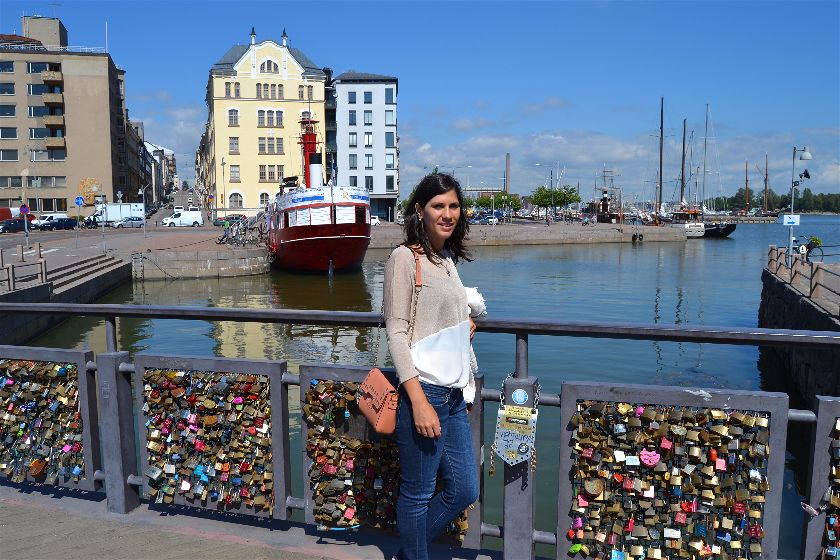 Puente del Amor, Helsinki, Finlandia