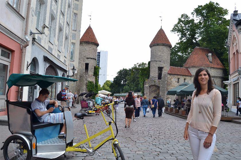 Puerta Viru, Tallin, Estonia