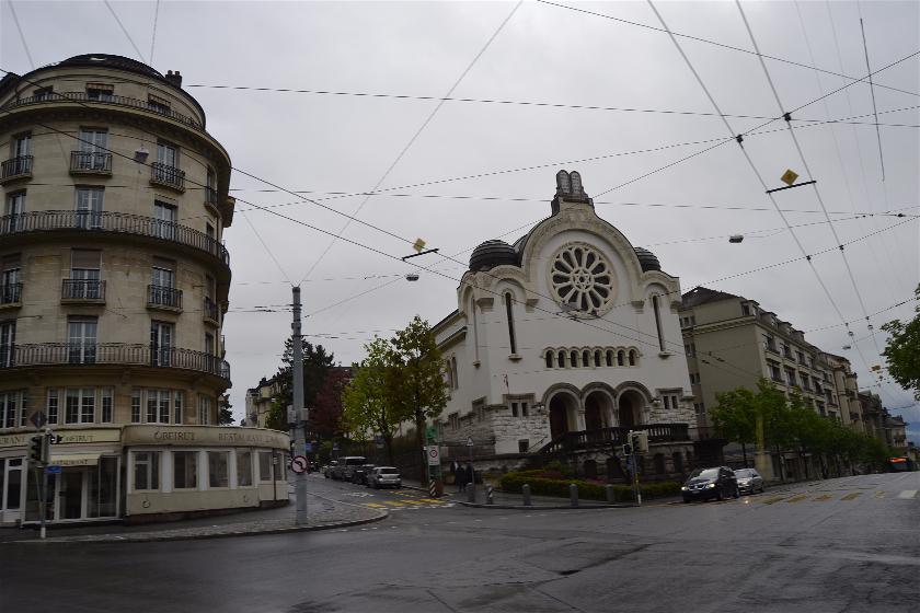 Sinagoga, Laussane, Suiza