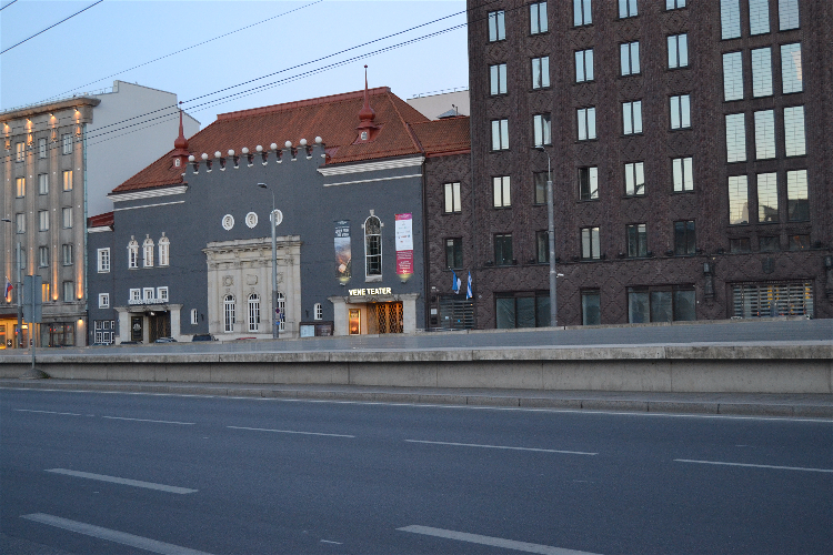 Teatro Vene, Tallin, Estonia