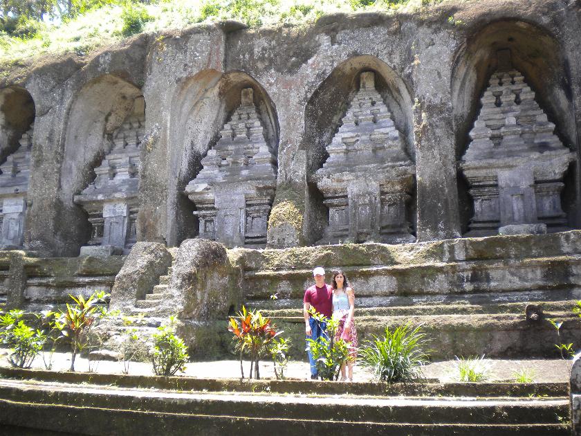 Gunung Kawi Tampaksiring, Bali, Indonesia
