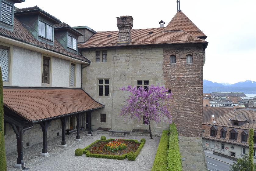 Vistas desde Catedral, Laussane, Suiza