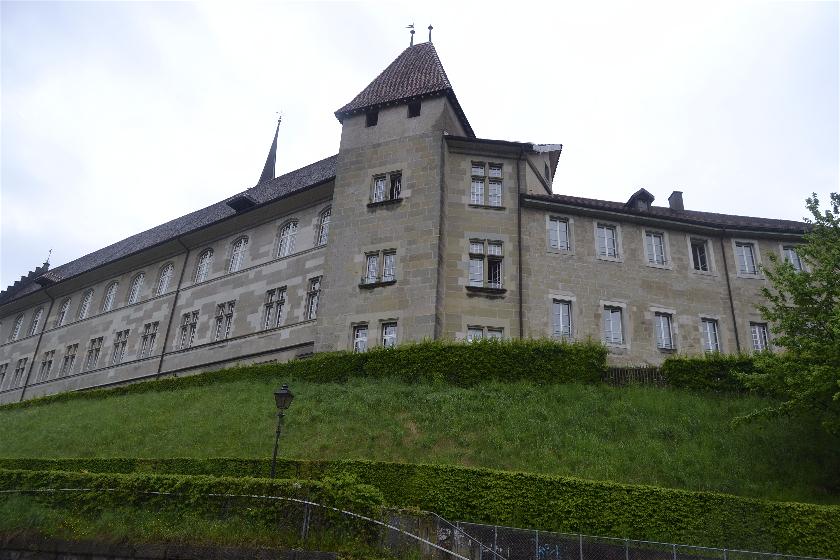 Vistas Palacio Rumine, Laussane, Suiza