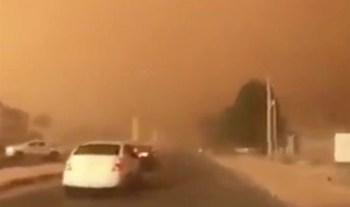 Рис. 12 Песчаная буря. Египет, 14.03.2020