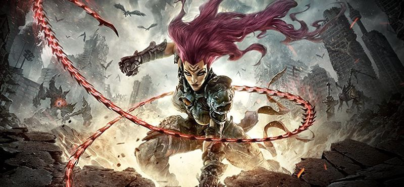 Darksiders 3 FURY horseman