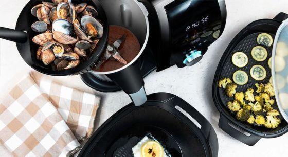 Robots de cocina Mambo Cecotec cocinar 4 elaboraciones a la vez
