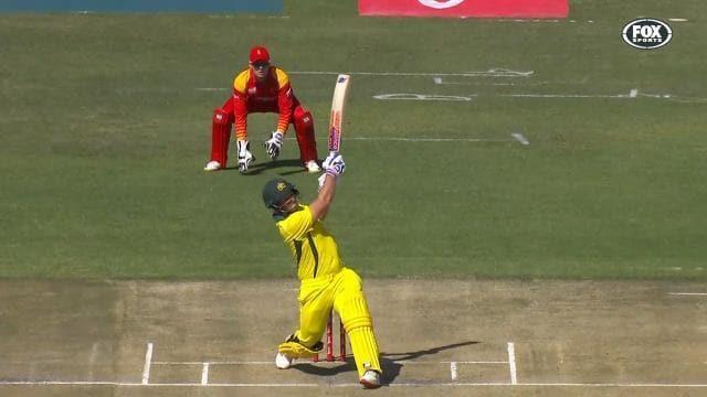 Big hitting Finch sets T20I record again