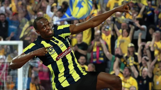 Usain Bolt and five other sport stars who tried brand new games.