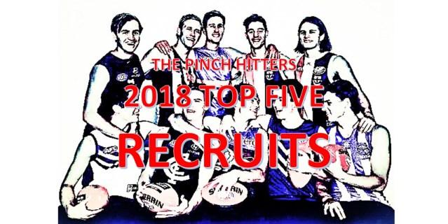AFL Season Review 2018: Top Five Recruits