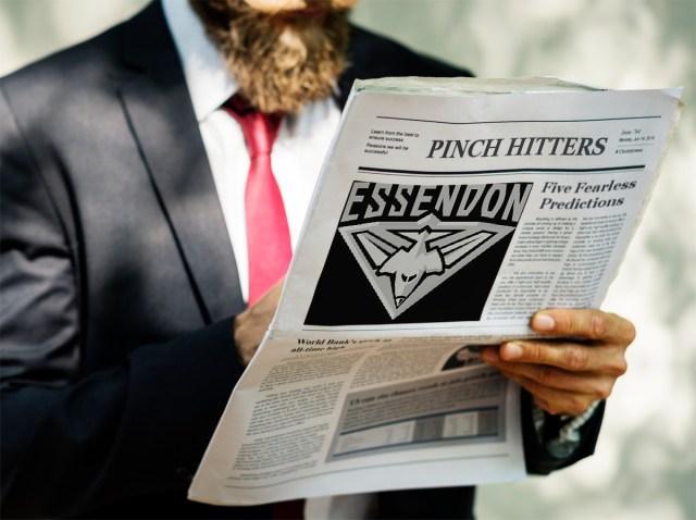 Essendon 2019 – Five Fearless Predictions