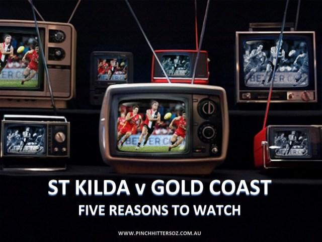 AFL Round One 2019: St Kilda v Gold Coast – Five Reasons to Watch