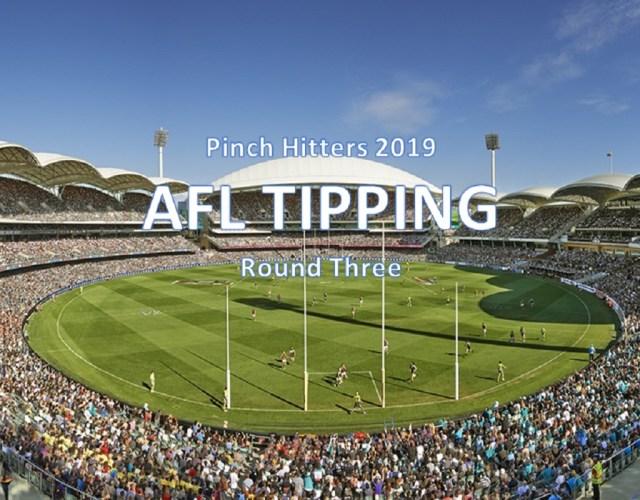 AFL 2019 – Round Three Tips