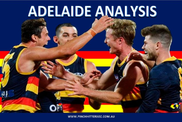 Adelaide Analysis: Round Seven vs Fremantle.