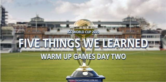 World Cup Warm-Ups Day 2: Five Things We Learned