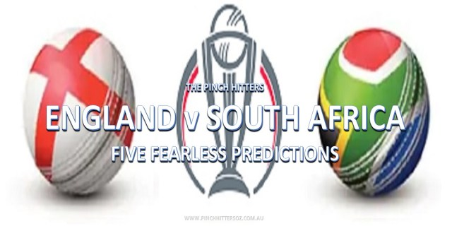 World Cup Prediction: England vs South Africa