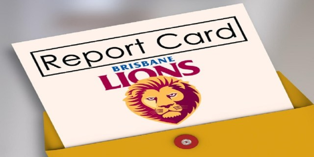 AFL 2019: Brisbane End of Season Report Card