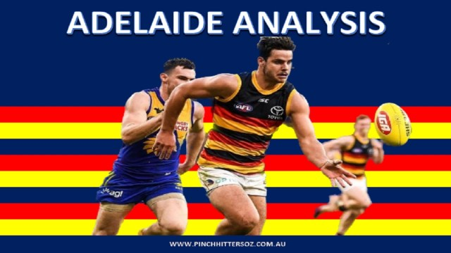 Adelaide Analysis: West Coast vs Adelaide Round 21
