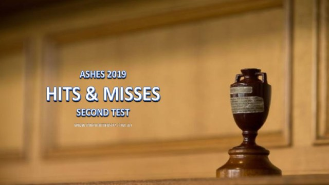 Ashes 2019: Hits and Misses – Second Test