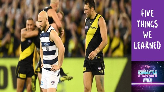 AFL 2019: First Prelim Final – Five Things We Learned