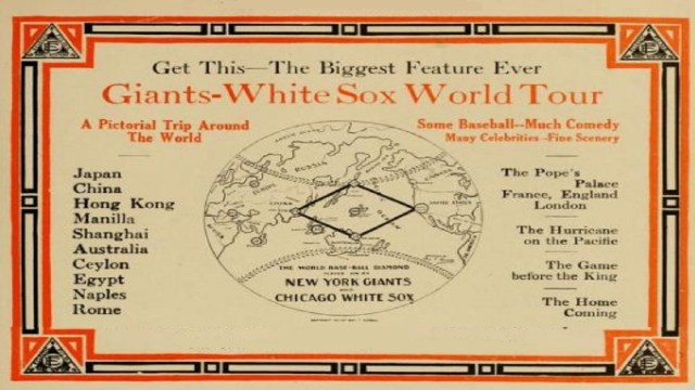 Giants and White Sox at the MCG – Baseball's Grand Word Tour of 1913-14