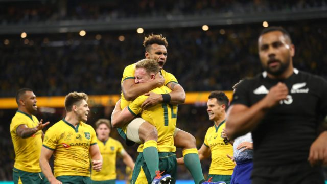 The Wallabies big win over the All Blacks in 2019 was one of the Pinch Hitters Top Five Wallabies wins of the Cheika Era.
