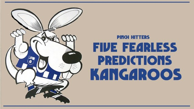 AFL 2020: North Melbourne – Five Fearless Predictions