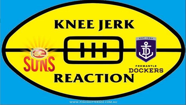 AFL 2020: Gold Coast v Fremantle – Round Four Knee Jerk Reaction