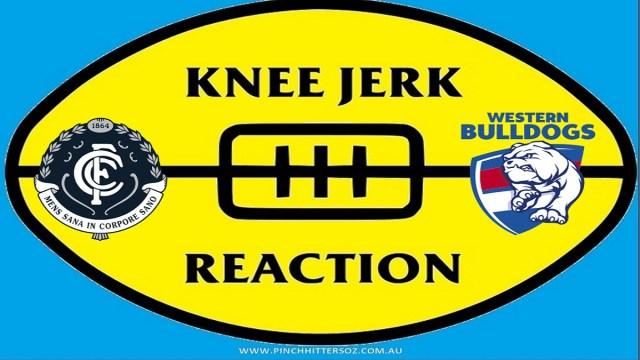 AFL 2020: Carlton v Bulldogs – Round Six Knee Jerk Reaction