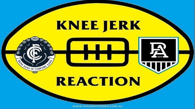 AFL 2020: Carlton v Port Adelaide – Round Seven Knee Jerk Reaction