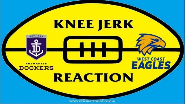 AFL 2020: Fremantle v West Coast – Round Seven Knee Jerk Reaction