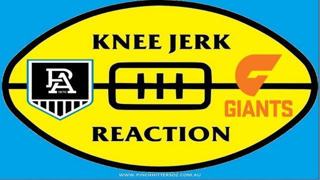 AFL 2020: Port Adelaide v GWS – Round Six Knee Jerk Reaction