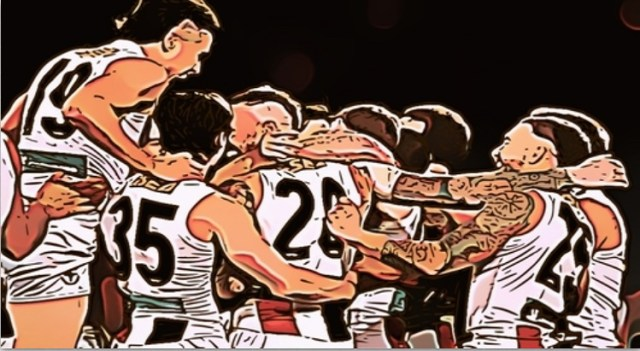 St Kilda celebrate their win over Port Adelaide. The Saints Might Be Good is one thing The Pinch Hitters Learned, Liked or Disliked in Round Eight of the 2020 AFL Season.