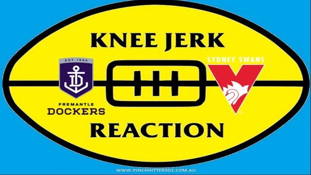 AFL 2020: Fremantle V Sydney – Round 13 Knee Jerk Reaction