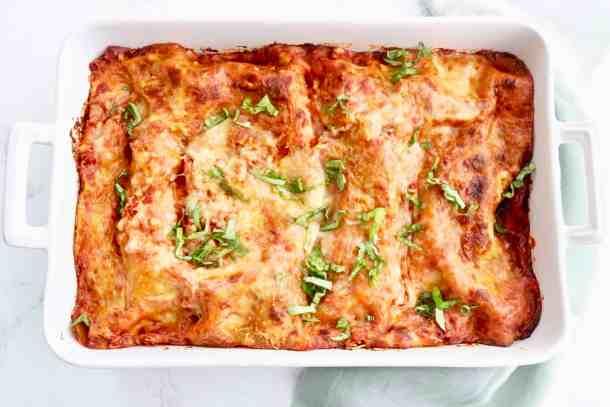 Full Pan of Sklinny Lasagna