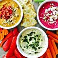 Hummus 3 Ways!