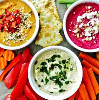Hummus THREE Ways!